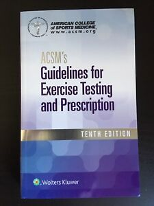 ACSM's Guidelines. 10th ed.