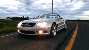 Mercedes SL55 AMG 500HP