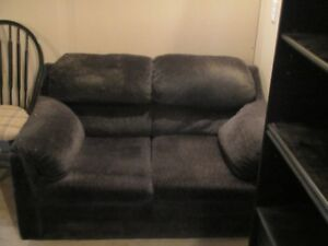 Dark Blue Loveseat