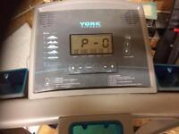 Faulty York running machine