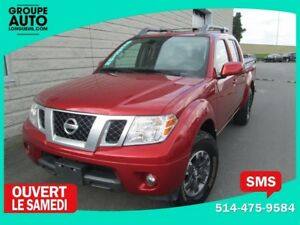 2016 Nissan Frontier PRO-4X*CUIR*TOIT*GPS*CREWCAB*10000KM*