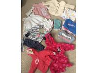 Girls 3-6 month bundle of clothes