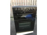 Bush Free Standing Electric Oven. (New but with damaged top)