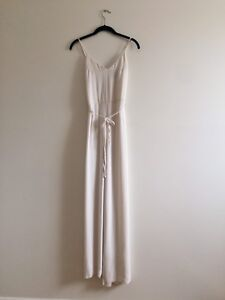 Off-White Silky Jumpsuit