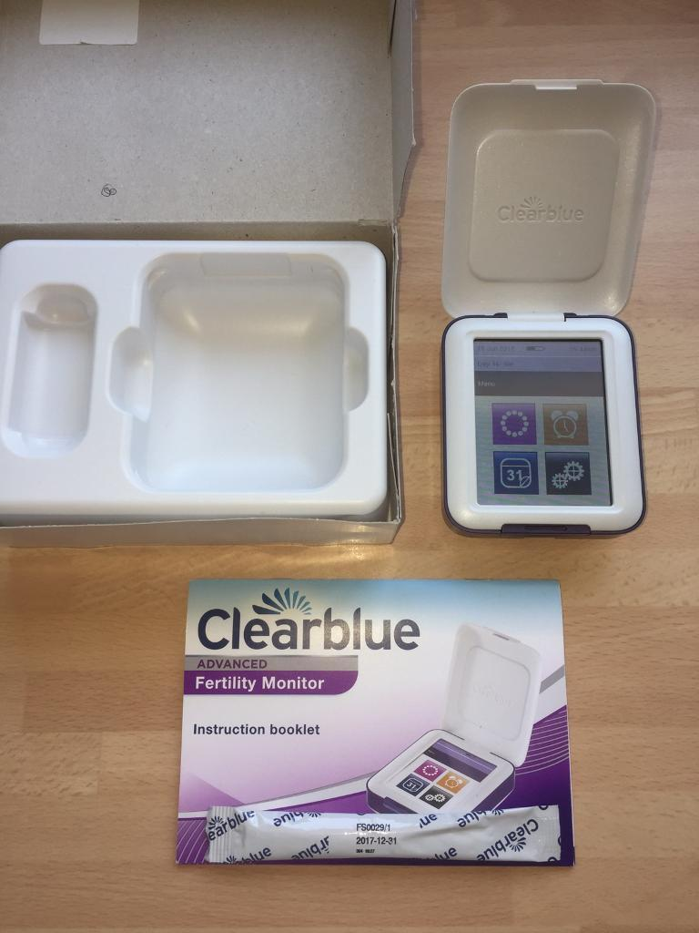 Clearblue advanced fertility monitor in boxin Hull, East YorkshireGumtree - Brilliant condition all working batteriesComes in box with one pregnancy test stick.Paid £130 for this new no time wasters!!