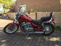 Suzuki VS600 (Intruder) Red , very good condition, low mileage , 12 month MOT