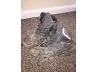 Uvex steel toe capped boots mens 10