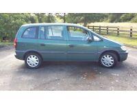 2003 Vauxhall Zafira 1.6L Petrol