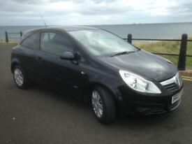 VAUXHALL CORSA 1.2 CLUB (NEW SHAPE)2007,MOT JULY 2018,£1095!