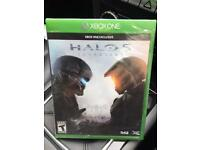 Xbox one game new and sealed, halo 5 guardians