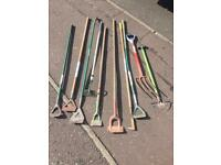 Garden tools for sale under a fiver