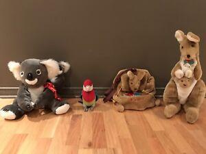 Toutou - Peluches importées- Plush toys from Australia