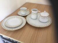 Noritake full dinner and tea set