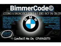 BMW Coding & Diagnostics Service For BMW E & F Series UNLIMITED CODES
