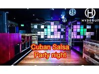 Cuban Salsa dance party Watford Tuesday