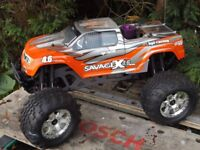 HPI Savage X 4.6 Big Block Giant 1/8 Scale RC 4WD Nitro Monster Truck