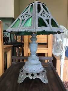 Vintage- Cast Iron lamp