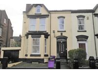 17 Belmont Drive FlA, Tuebrook. Single bedroom flat with gas central heating & DG. LHA welcome