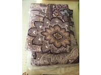 Double Duvet Cover And Flat Sheet