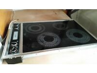 Cooker hob and extractor fan