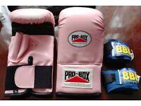 PRO-BOX Women pink boxing glove