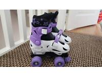 Girls Roller Skates adjustable up to size 13