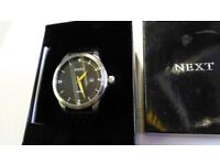 New mens next Watch. Still boxed.