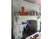 Handmade, solid wood fitted kitchen + various appliances.