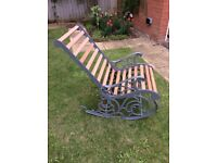 Beautifully restored antique rocking chair