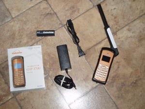 Globalstar GSP-1700 Phone,Car Kit,Data Cable,Package Deal