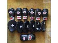 JOB LOT - USED Gloves & Focus Pads