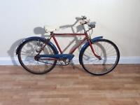 Vintage Raleigh jeep hire bike