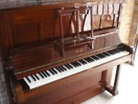 Upright Piano For Sale. Oblique Strung. Free Delivery.