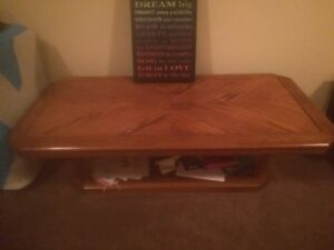 Coffee table and Sony tv stand $25 obo
