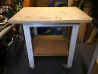 Wheeled Workshop Bench/Table