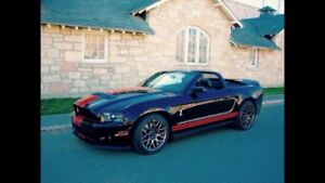 2011 Ford Mustang Shelby GT500 w/ Track Pkg