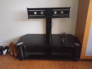 Contemporary TV stand and mount.