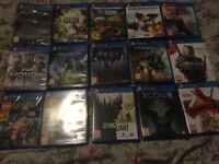 PS4 Games Collection