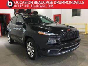 2014 Jeep Cherokee LIMITED V6 AWD - NAVIGATION+TOIT+CUIR+DÉMARRE
