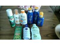 Ambre Solaire, Nivea Sun Creams, Mosquito Spray/Bracelets, After Sun