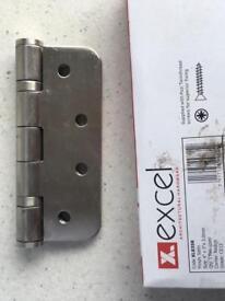 "EXCEL Stailess Steel Hinges 4"" 12 Pack"