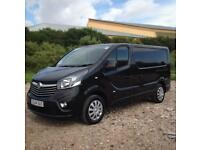 15 64 Vauxhall Vivaro 1.6 CDTi BiTurbo 2700 L1H1 120ps Sportive in Black