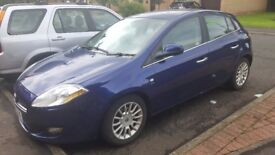Fiat bravo dynamic 150bhp Bluetooth,