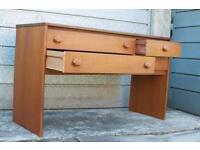 Mid Century Teak Sideboard/Dresser/Desk/Drawers