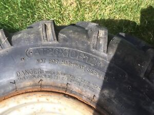 4 ATV Tires 26x10R12 and 28x8R12