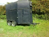 horse trailer double,