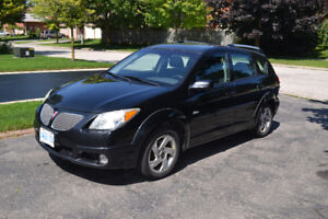 2005 Pontiac Vibe,  Low kms, Safety Certified