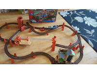 Trackmaster Thomas and Friends zip zoom and logging adventure