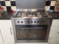Gas/electric Oven cooker