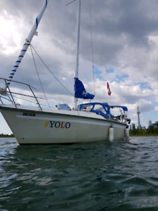 28ft  Edel 820 sailboat fully equipped
